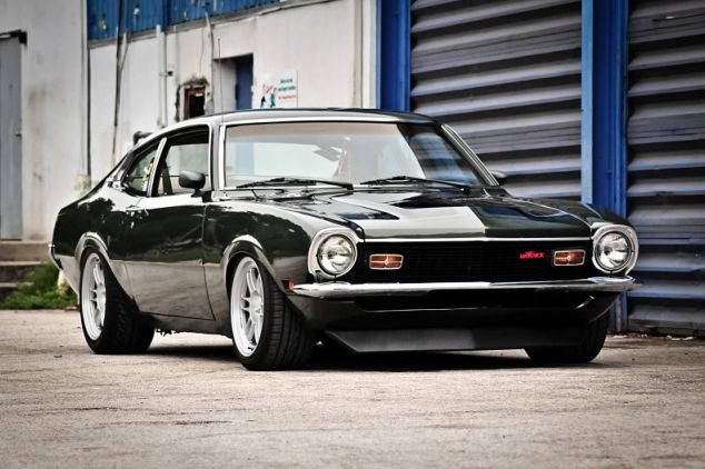 The Best Muscle Cars At >> http://musclecarshq.com/affordable-muscle-cars-ford-maverick-grabber/