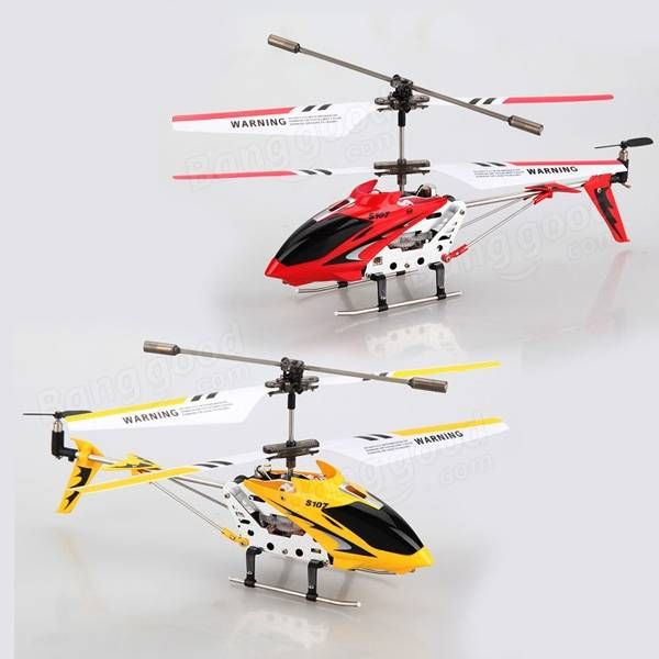 Genuine Syma S107 S107G 3 CH Infrared RC Helicopter with GYRO - US$19.99