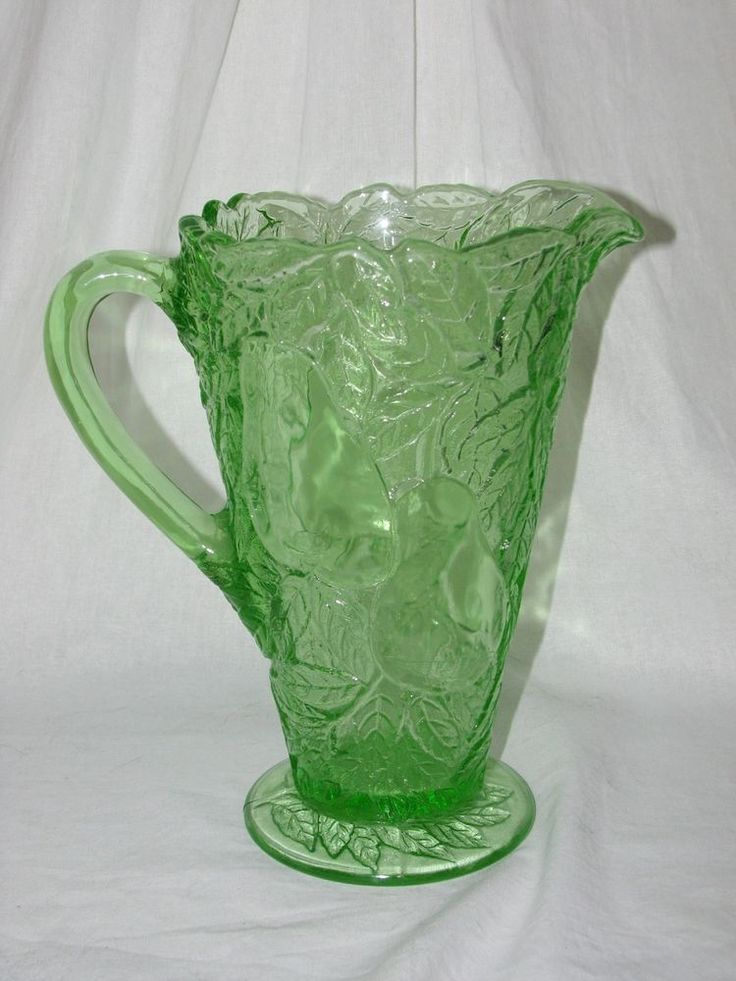 178 best images about glass green depression on for Most valuable depression glass patterns