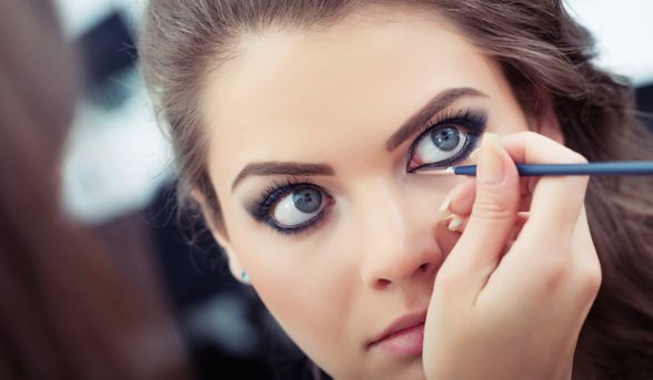 How to apply eyeliner to suit your eyes
