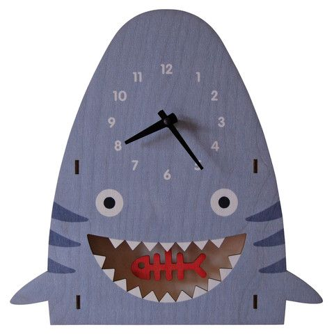 shark pendulum clock - modern moose