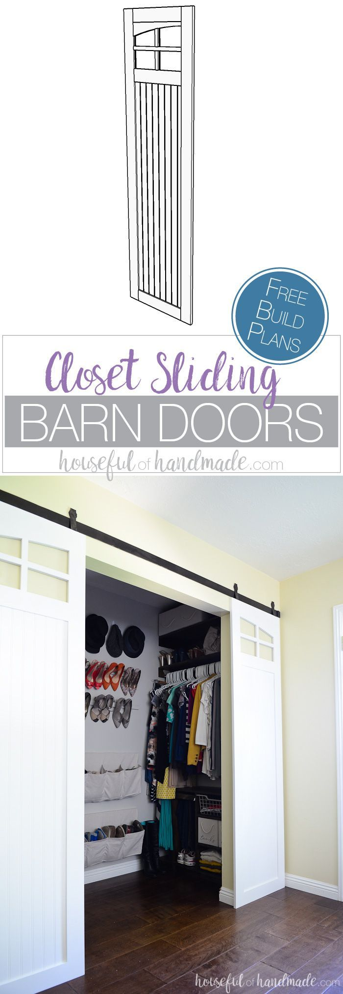 best 25 barn door closet ideas on pinterest sliding. Black Bedroom Furniture Sets. Home Design Ideas