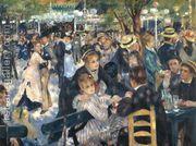 Dance At The Moulin De La Galette  by Pierre Auguste Renoir