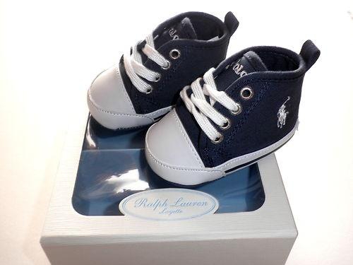 Baby Boy Ralph Lauren Pram Shoes