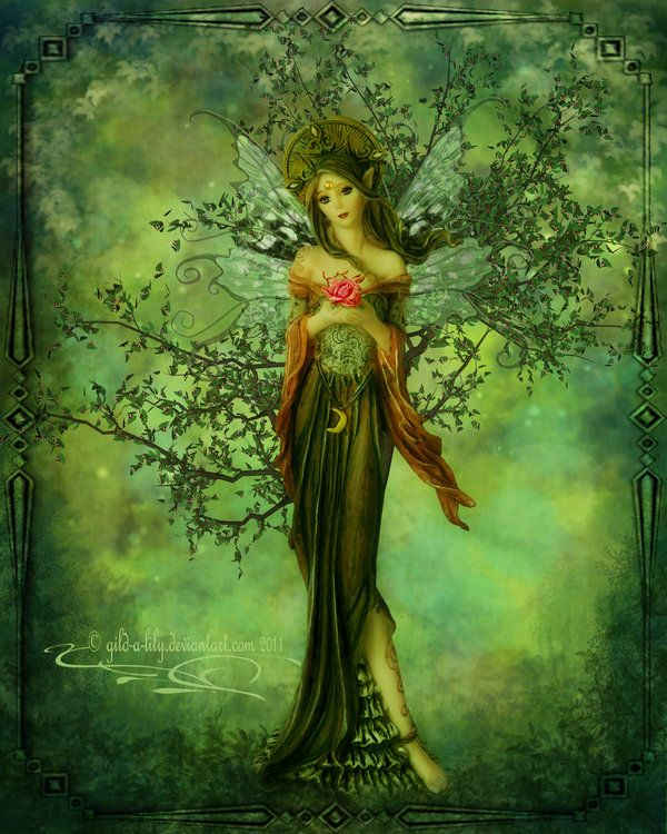 ༺♥༻ The Faerie Queen by =Gild-a-Lily on deviantART ༺♥༻