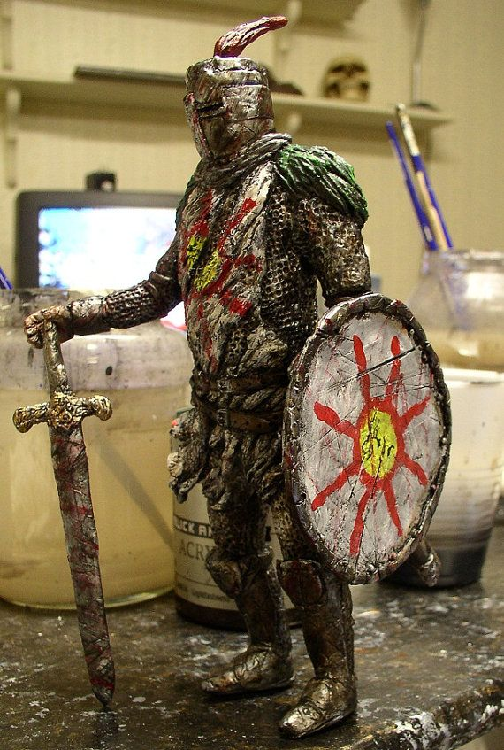 """Dark Souls Solaire of Astoria 8"""" statue limited edition of 100"""