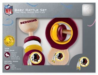 NFL Washington Redskins Baby Rattles (Set of 2)