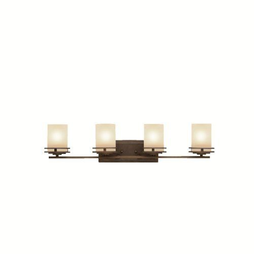 Kichler Lighting 5079OZ 4-Light Hendrik Incandescent Bath Light, Old Bronze by Kichler. $194.40. From the Manufacturer                Since 1938, Kichler Lighting has offered a distinctive array of lighting solutions that reflect your individual personality, tastes and plans. Kichler brings you an unparalleled variety of exciting style families, unique finishes, fresh colors and unequaled quality. Whether it's casual, contemporary, transitional or traditional,...