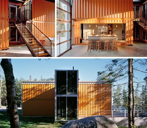 House Container Exterior Pictures