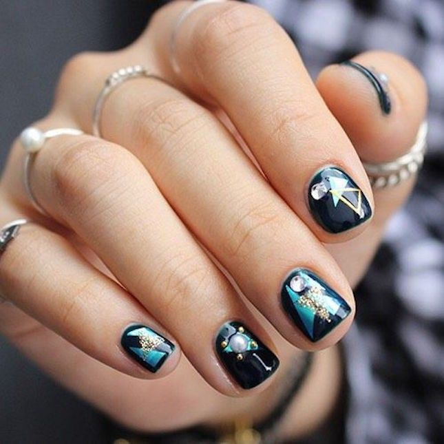 Nail Designs And Nail Art Latest Trends: 17 Best Ideas About Korean Nails On Pinterest