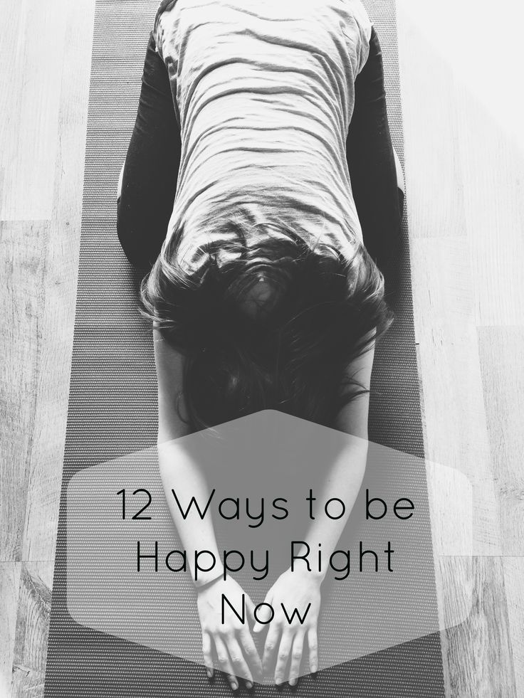 Don't be stuck in a rut, choose to be happy right now.