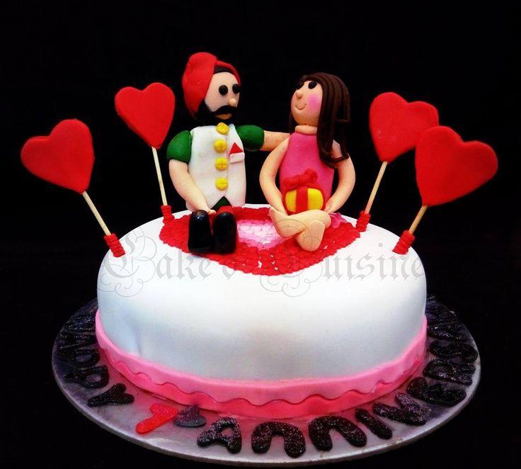Anniversary Themed cake