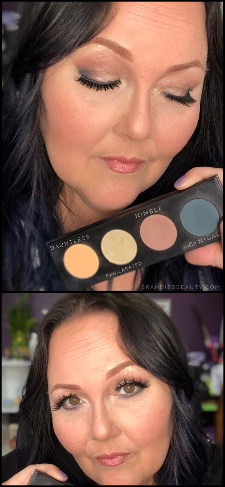 All Shadow Shades On Pic Other Younique Products Used For