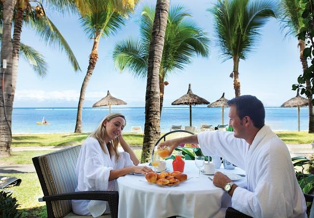 Honeymoon Breakfast - Sugar Beach Resort