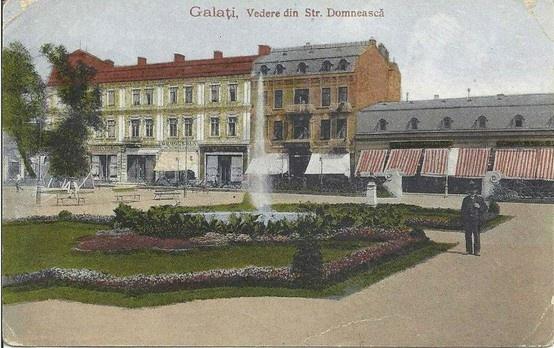 Galati - Parcul Municipal (Eminescu) - interbelica