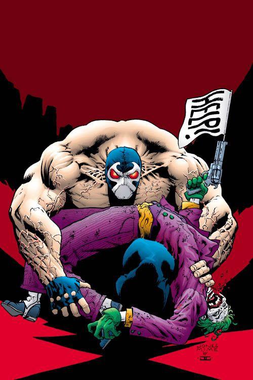 Bane vs. The Joker - John Cassaday