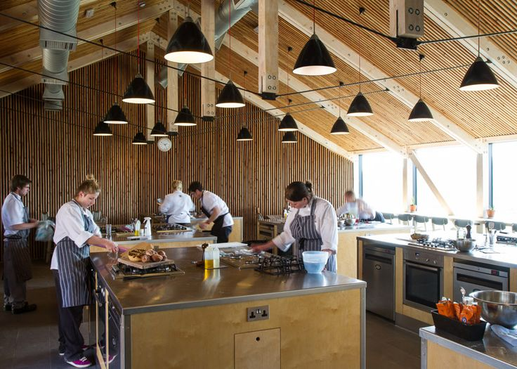 Cookery school created for British TV programme River Cottage.