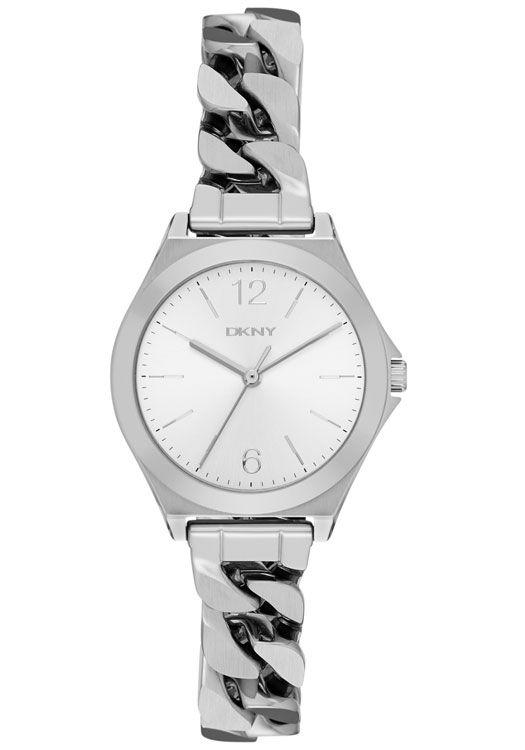 DKNY Parsons NY2424: Smart snygg, polerat silver-tone #klockordam…