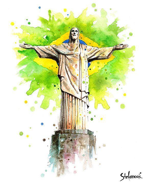 Christ The Redeemer Brazil Wc2014 Riodejaneiro
