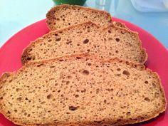 Bezlepkový kváskový chleba