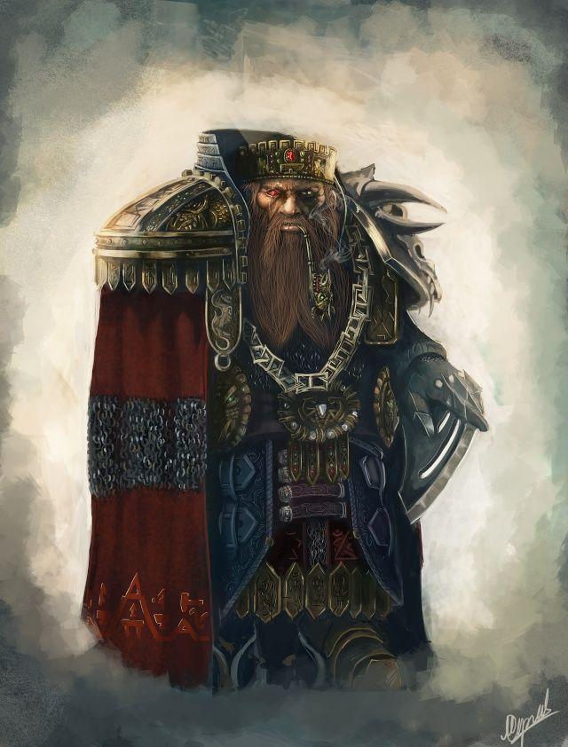 Gjöldir Dwarven Council Head of the Magic