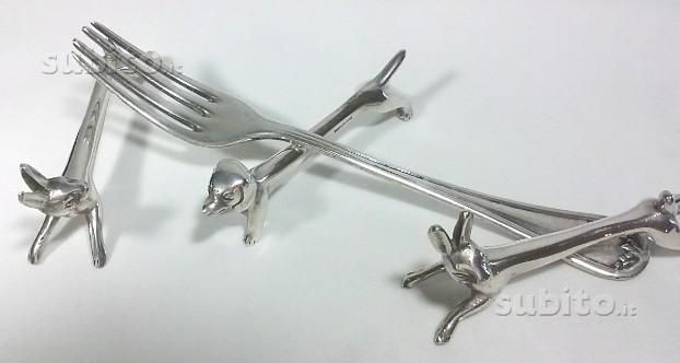 Posa posate Plata Lappas, silver plated, 1930/40 - Collezionismo In vendita a Bologna
