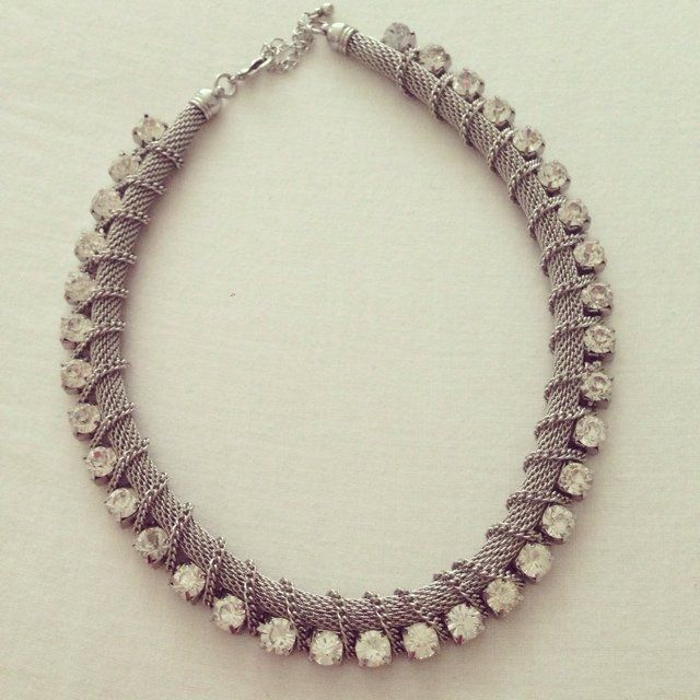 H&m silver necklace! Perfect condition. £5.50 inc postage £5.50