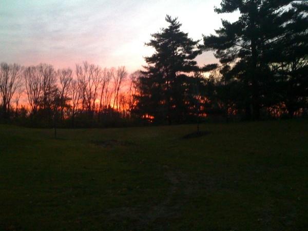 November Sunrise    love them, and sunsets better.
