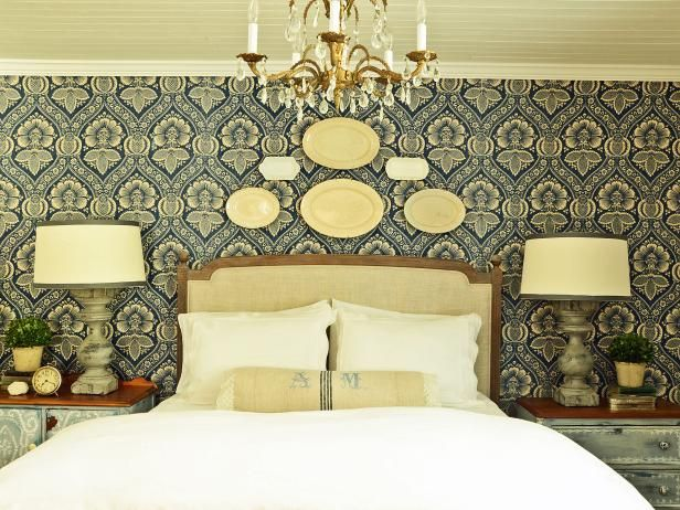 1000 ideas about bedroom wall designs on pinterest wall for Decorating walls with fabric ideas