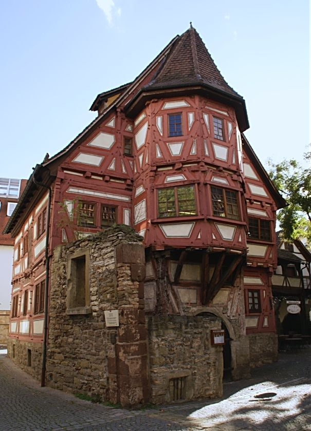122 best tudor fachwerk split timber frames images on for Small house design germany