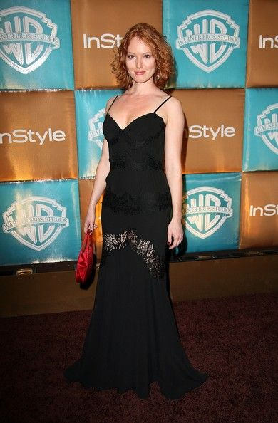 Alicia Witt Photos - In Style Magazine And Warner Bros. Studios Golden Globe After Party - Zimbio