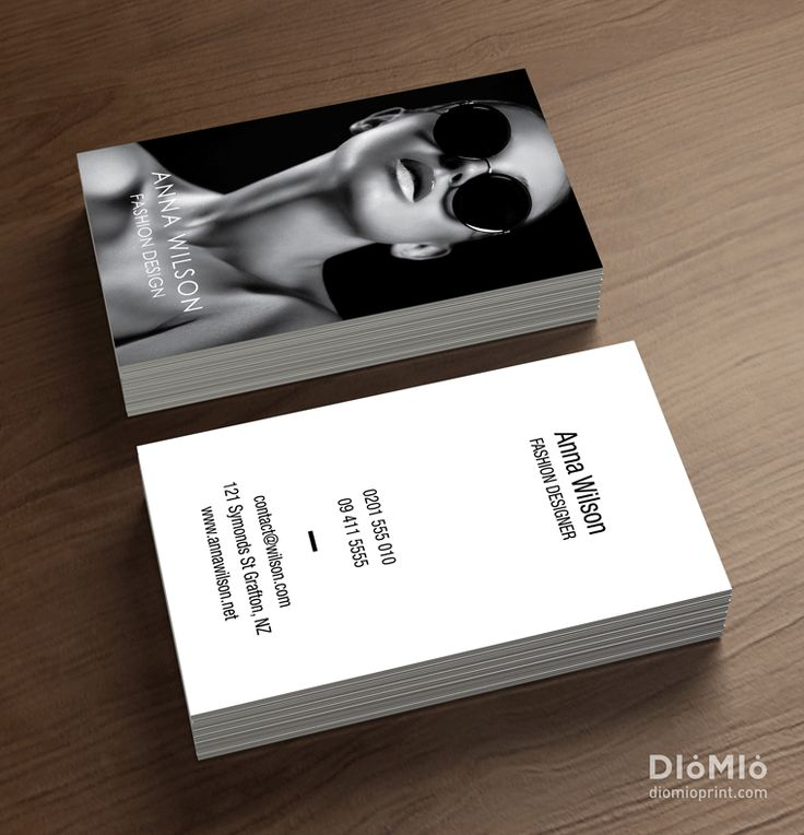 Looking for unique model business cards? You can find out cool model business  cards at DioMioPrint. Here are more and pretty model business cards.