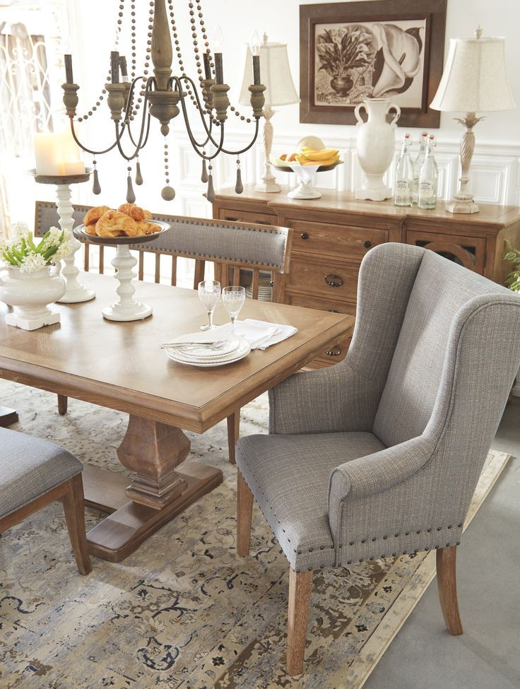 Ollesburg Dining Room Chair Ashley Furniture Homestore Farmhouse Dining Room Shabby Chic Dining Room Dining Room Chairs Ashley furniture dining room chairs