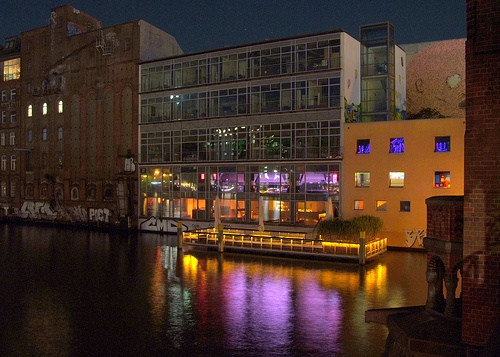 The fun in Berlin, too! Watergate: the most underground club in Europe!