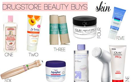 The 25 Best Drug Store Beauty Buys
