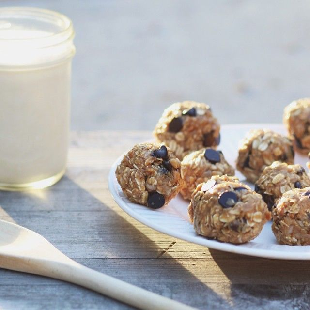 No-bake cookie bites. This. Is. What's. Up.