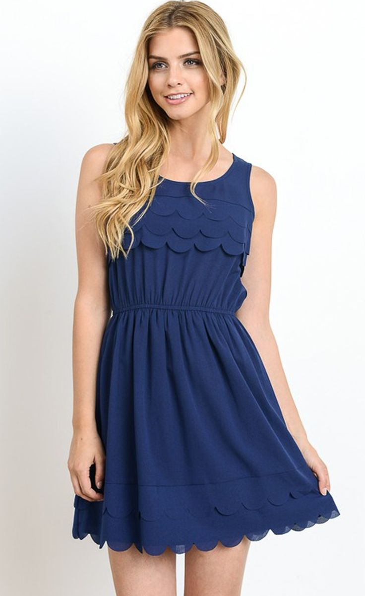 High Neck Halter Dress Circle