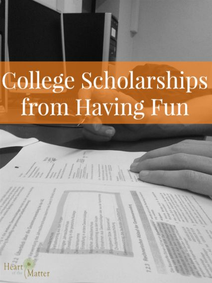 College Scholarships from Having Fun
