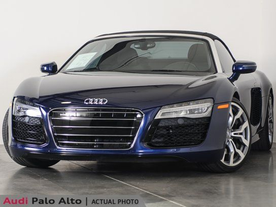 Convertible, 2014 Audi R8 V10 Spyder with 2 Door in Palo Alto, CA (94303)