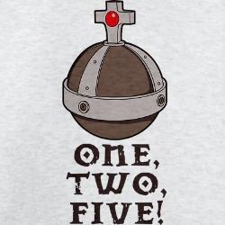 Thou Shalt Not Count Four Monty Python Mugs Antioch
