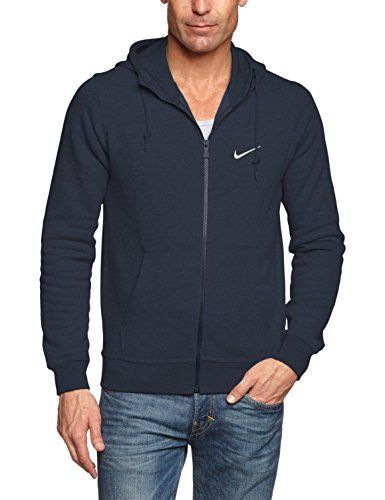 NIKE Nike Men'S Club Swoosh Full Zip Fleece Hoodie. #nike #cloth #