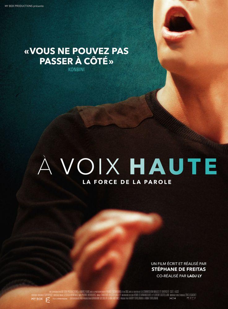 """À Voix haute - La force de la parole (France, 2017) Chaque année à l'Université de Saint-Denis se déroule le concours """"Eloquentia""""qui vise à élire « le meilleur orateur du 93 ». Des étudiants de cette université issus de tout cursus, décident d'y participer avec de l'aide de orateurs pros et benevole. Ce film est motivant, energisant et bien fait. 3.6 stars"""
