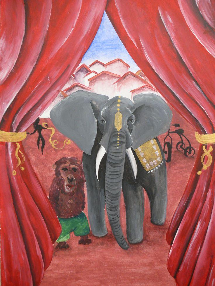 El circo se adentra en la aldea