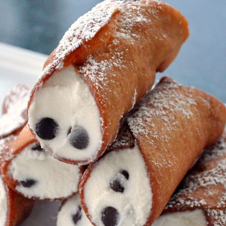 Basic Cannoli Recipe — Dishmaps