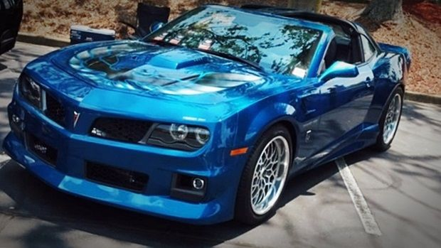 2020 TRANS AM FIREBIRD BLUE | Pontiac firebird trans am ...