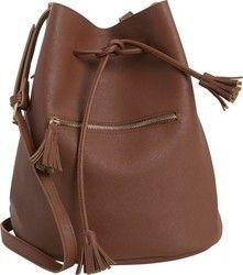 Tighten Bag PCLELLIS της PIECES - 17079583 ΚΑΦΕ