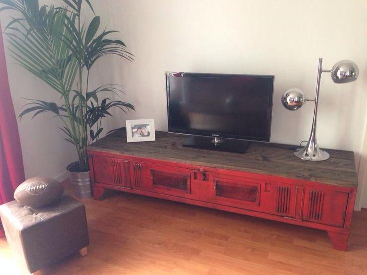 mobilier industriel lor du temps fabriqu en france - Meuble Tv Made In Design