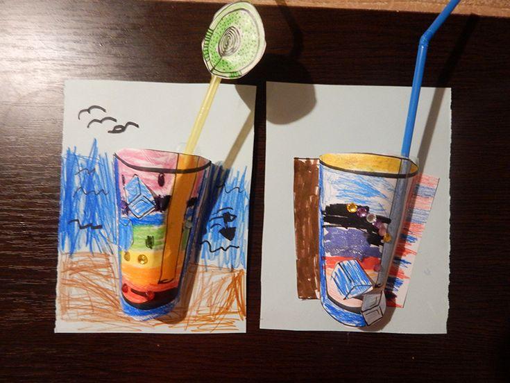 Papír limonádé - Lurkovarázs.hu - Kreatív feladatok gyerekeknek