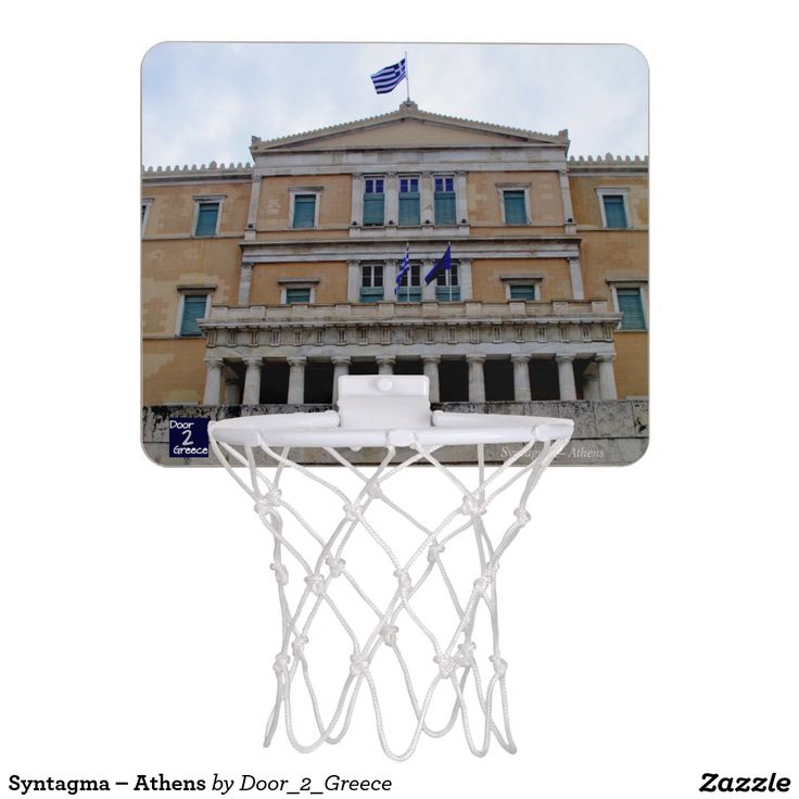 Syntagma – Athens Mini Basketball Hoop