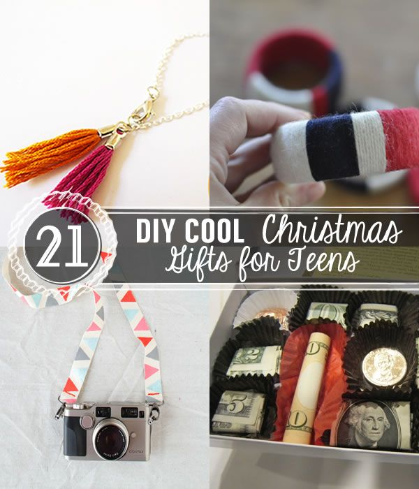 DIY Christmas gift ideas for and boys. It's cheap & super cool & unique gifts to make. | http://pioneersettler.com/diy-christmas-gifts-teens/